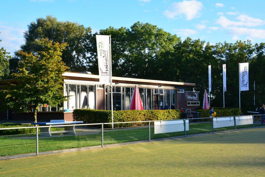 De kantine van Velocitas in de Bloemerd in Leiderdorp.