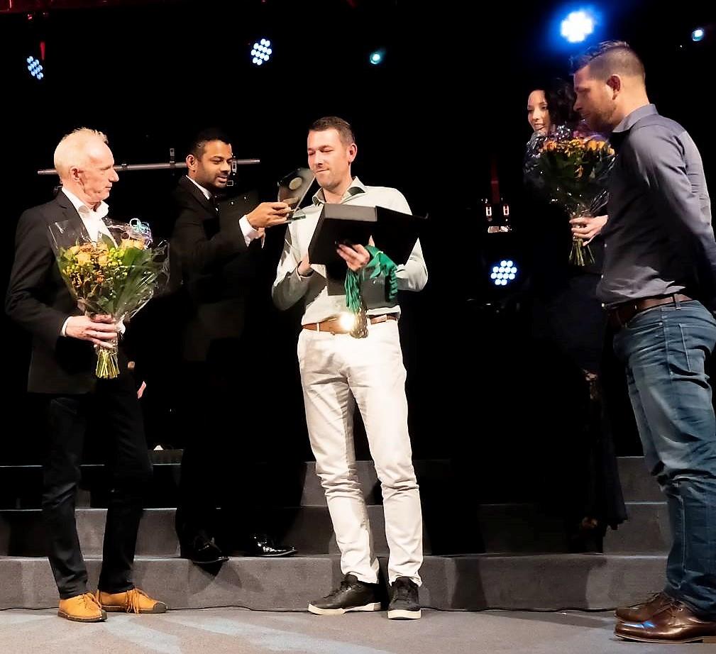 Velocitas 1 wint de prijs van Sportteam van het Jaar.