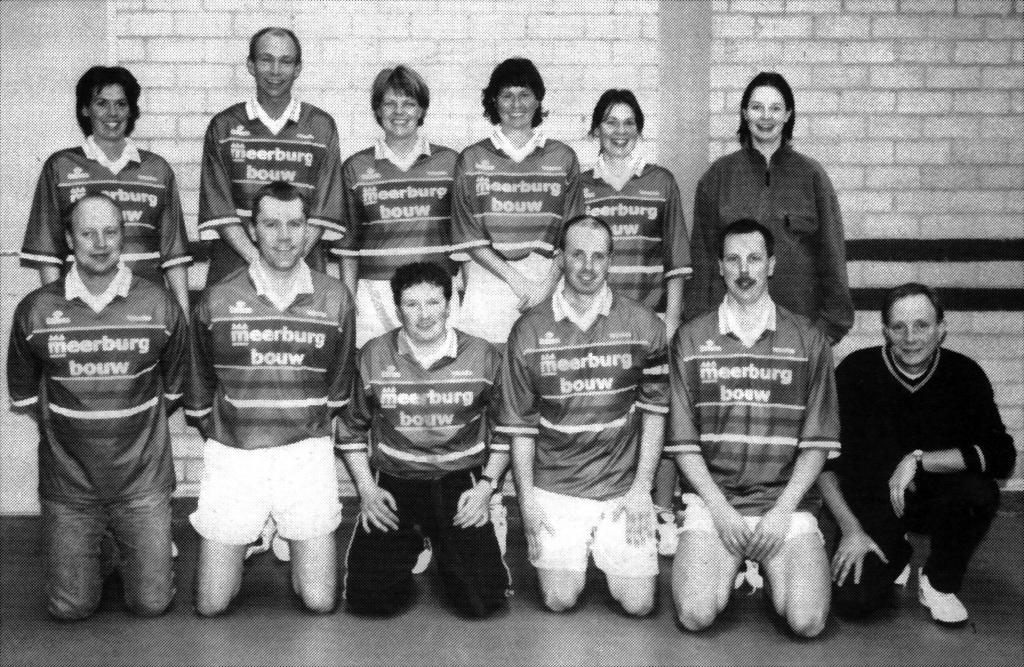 Femmy met de senioren 3 in 2000