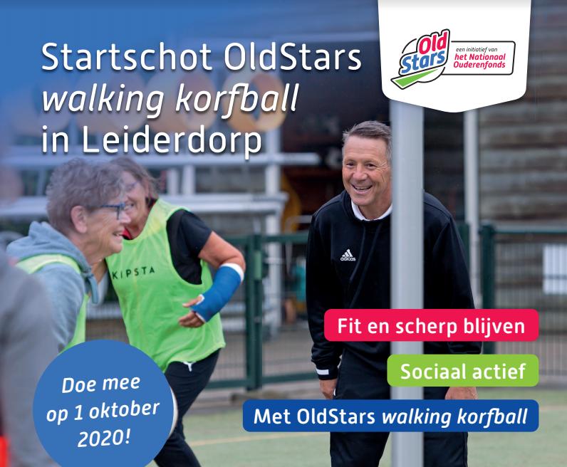 Doe als 55+er mee met de Walking Korfball Clinic op 1 oktober!