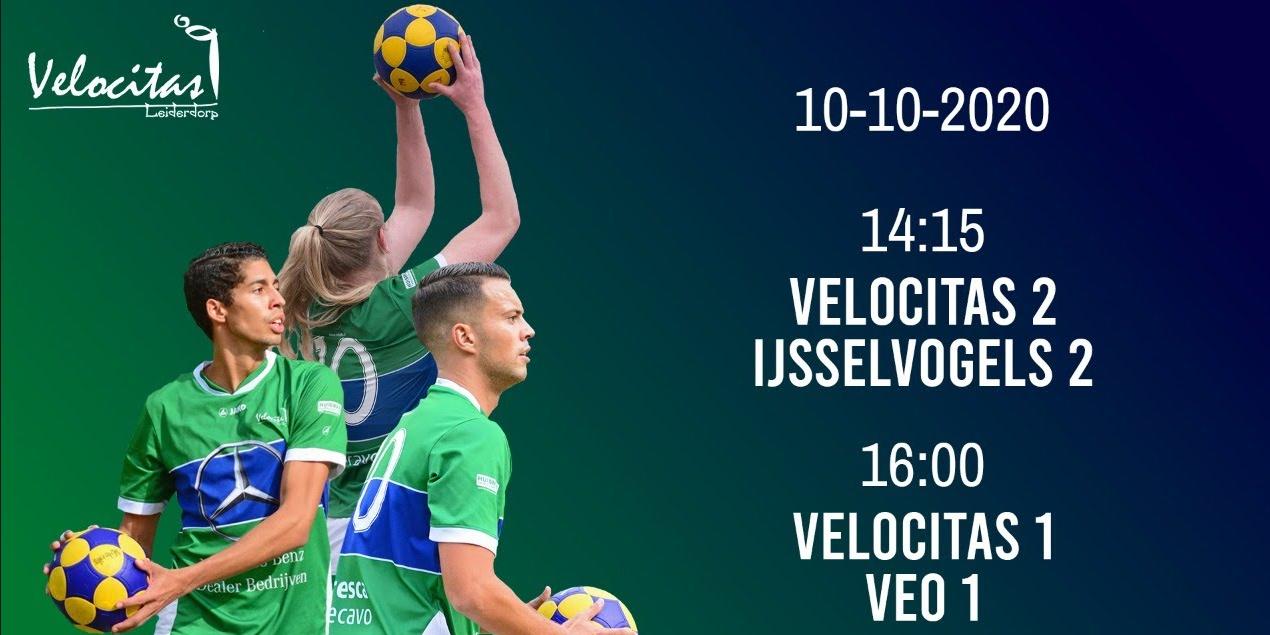 10 oktober live vanaf 14:15: Velocitas 1 & 2